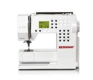 Bernina 215 - Inkl. Forlængerbord
