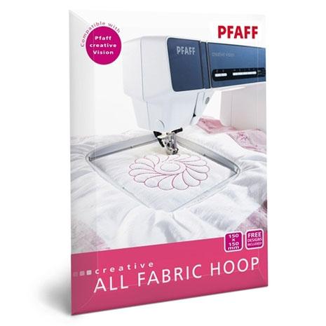 Image of   All Fabric Hoop II 150x150mm