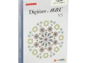 Janome Digitizer Upgrade til MBX V5.0 fra JR V3-5