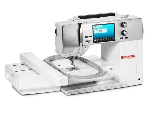 Bernina 570 QE VIO (Inkl. broderimodul & BSR - System)