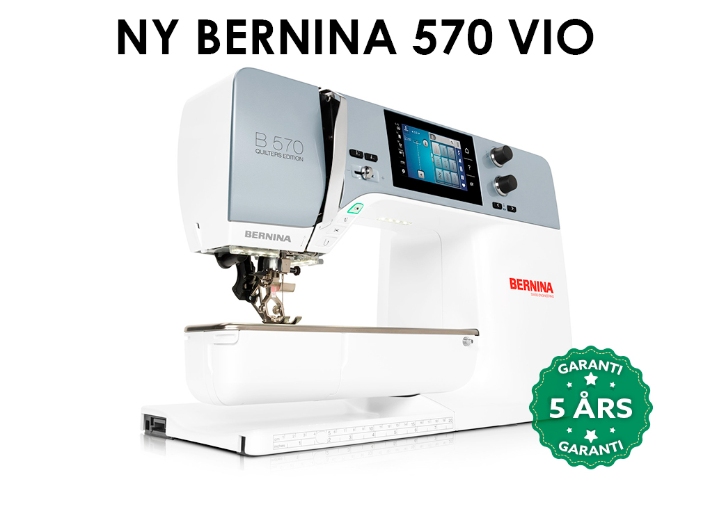 Image of   Bernina 570 QE VIO