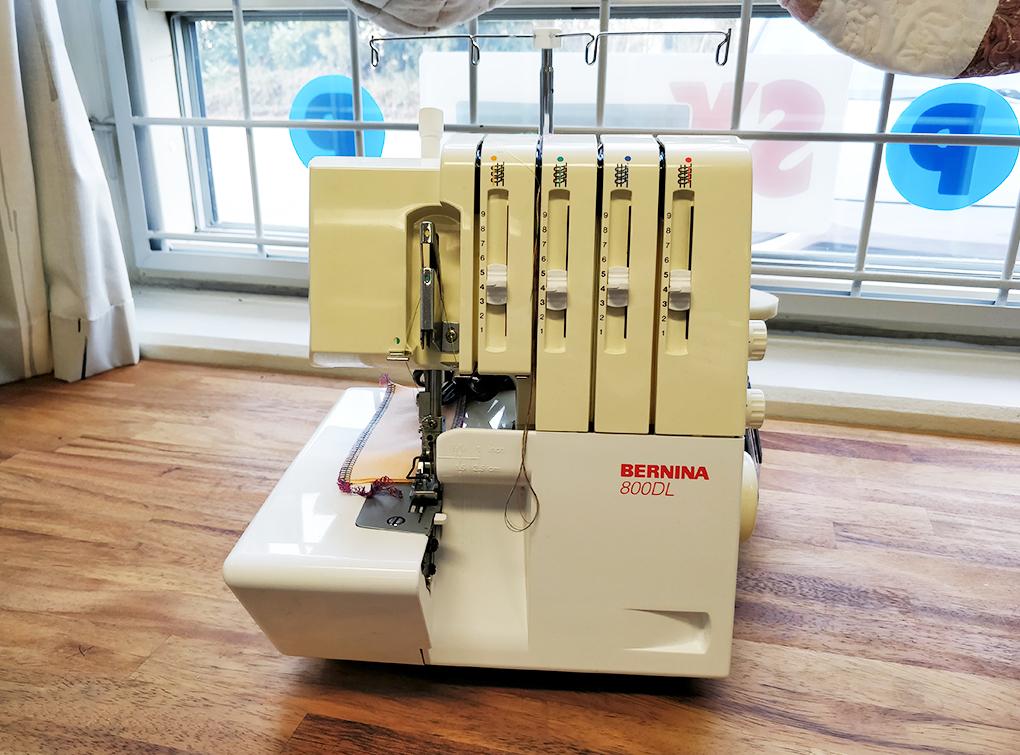Image of   Bernina 800DL (Brugt)