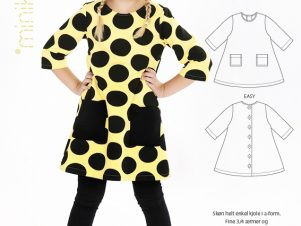 Minikrea - A-kjole 50010