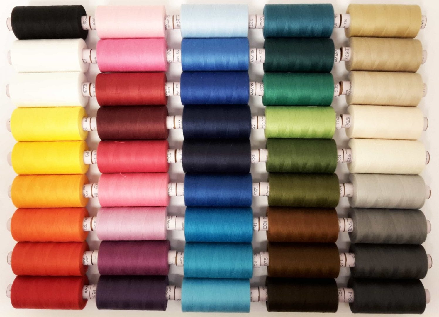 Image of   AMANN Aspo 120 - 1000 Meter (polyester)