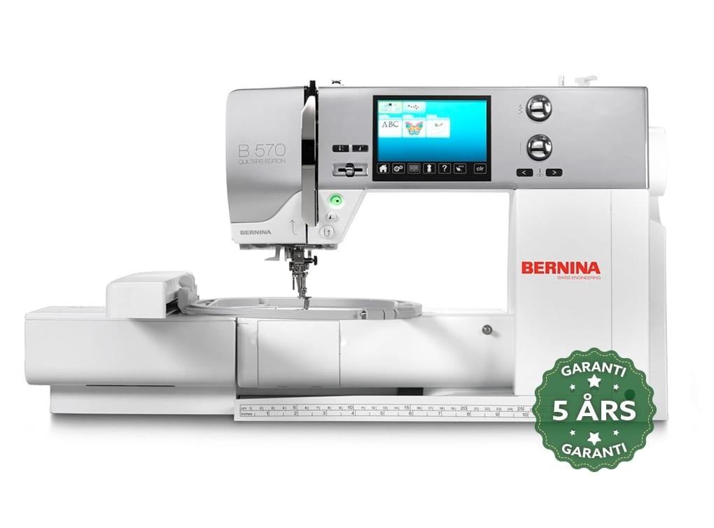Image of   Bernina 570 QE VIO (Inkl. broderimodul & BSR - System)