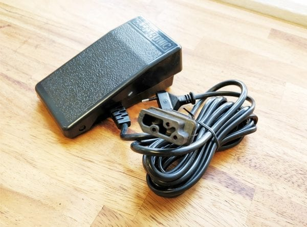 Elektronisk Fodpedal -  Div. Overlock