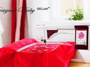 Husqvarna Viking Designer Ruby DeLuxe