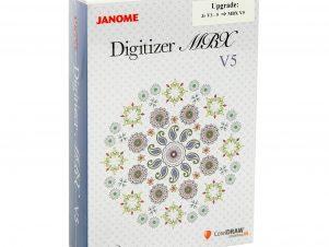 Janome Digitizer Upgrade til MBX V5.0 fra JR V3-5