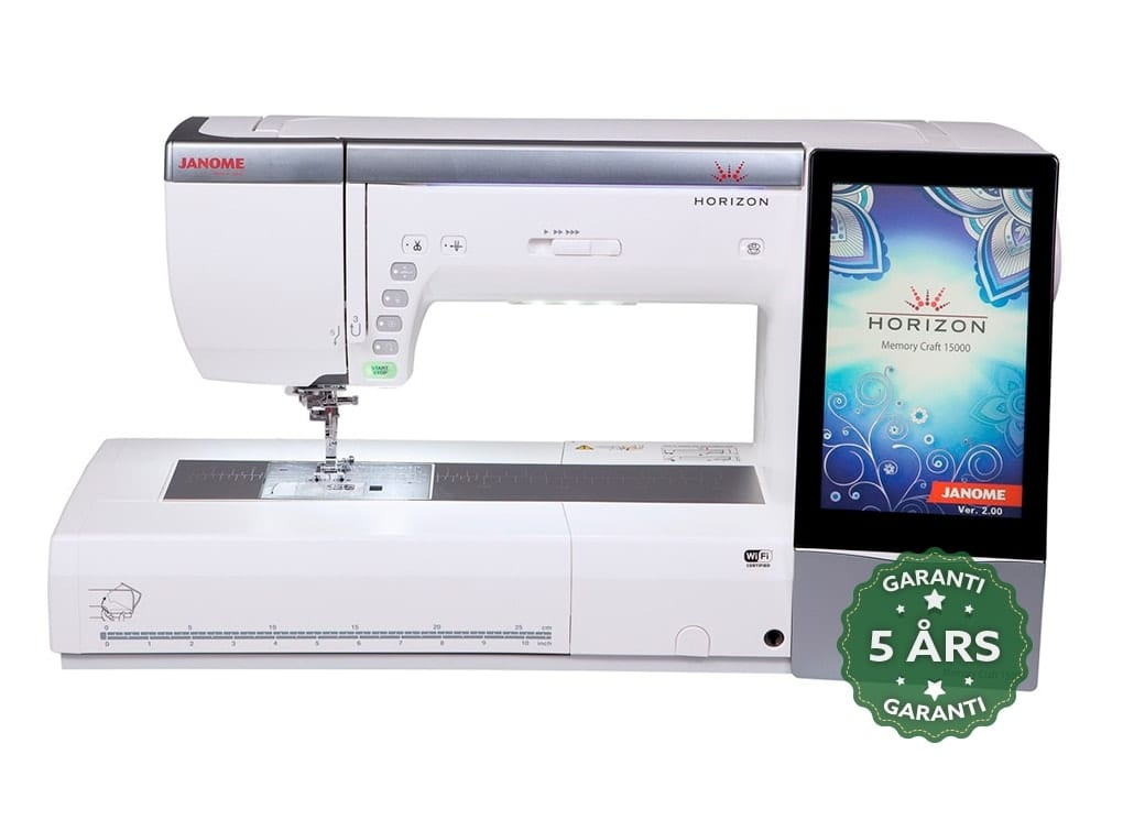 how to use janome 15000