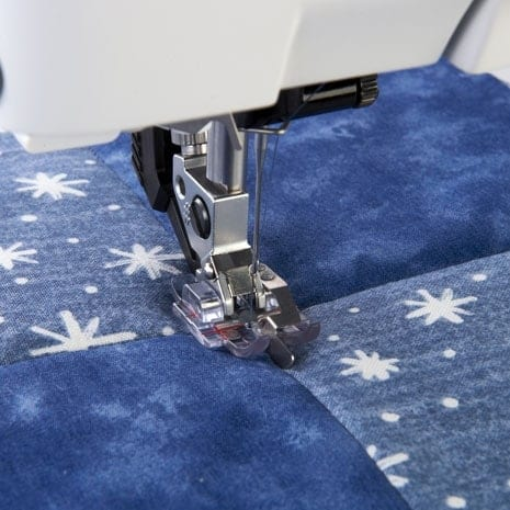 Image of   Pfaff Stitch-in-Ditch-trykfod med IDT (klar)