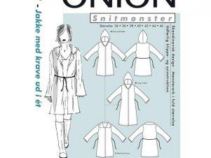 Onion snitmønster 1021(Jakke med krave/hætte)