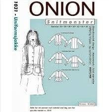 Onion snitmønster 1031 (Uniformsjakke)