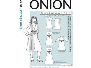 Onion Snitmønster 2012 (Vintage kjole)
