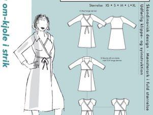 Onion Snitmønster 2014 (Slå om-kjole til strikstof)