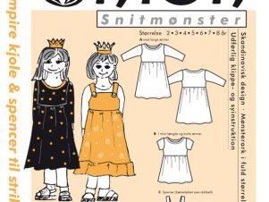 Onion Snitmønster 20036 (Empire kjole & spencer til strikstof)