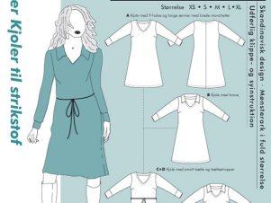 Onion Snitmønster 2070/9004 (70'er kjoler til strikstof)