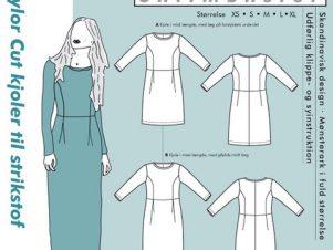 Onion Snitmønster 2073 (Taylor Cut kjoler)