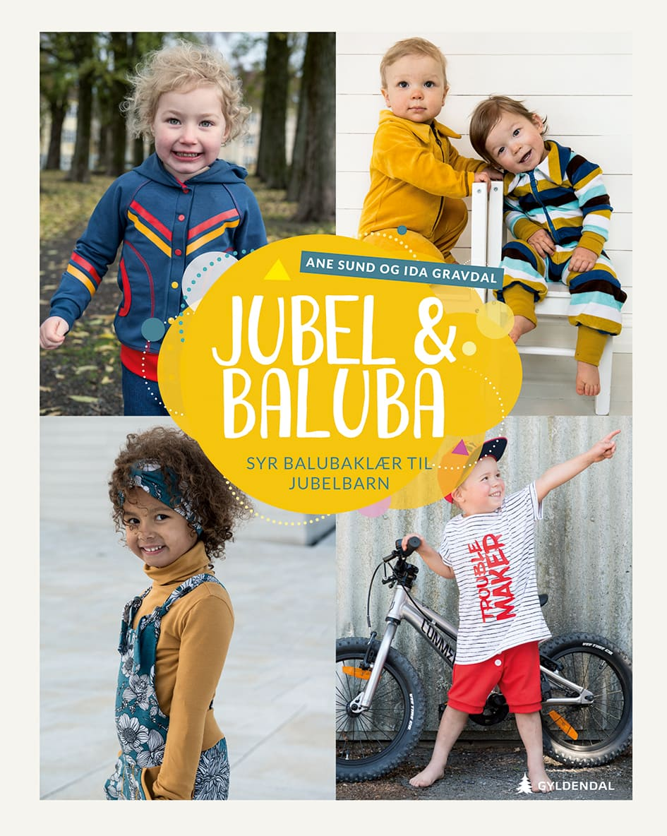 Jubel og Baluba Syr Balubaklær Til Jubelbarn