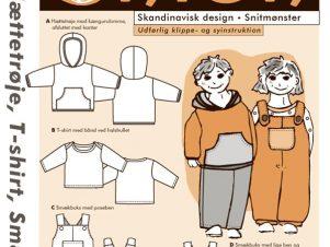 Onion Snitmønster 10018 (Hættetrøje, T-shirt, smækbuks)