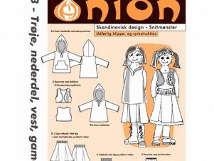 Onion Snitmønster 20033 (Trøje, nederdel, gamache)