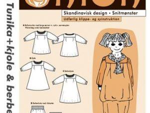 Onion Snitmønster 20039 (Tunika, kjole, berberbuks, tørklæde)