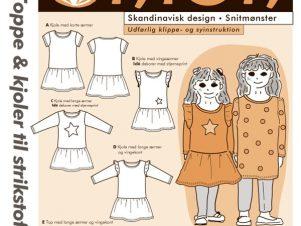 Onion Snitmønster 20045 (Toppe & kjoler til strikstof)