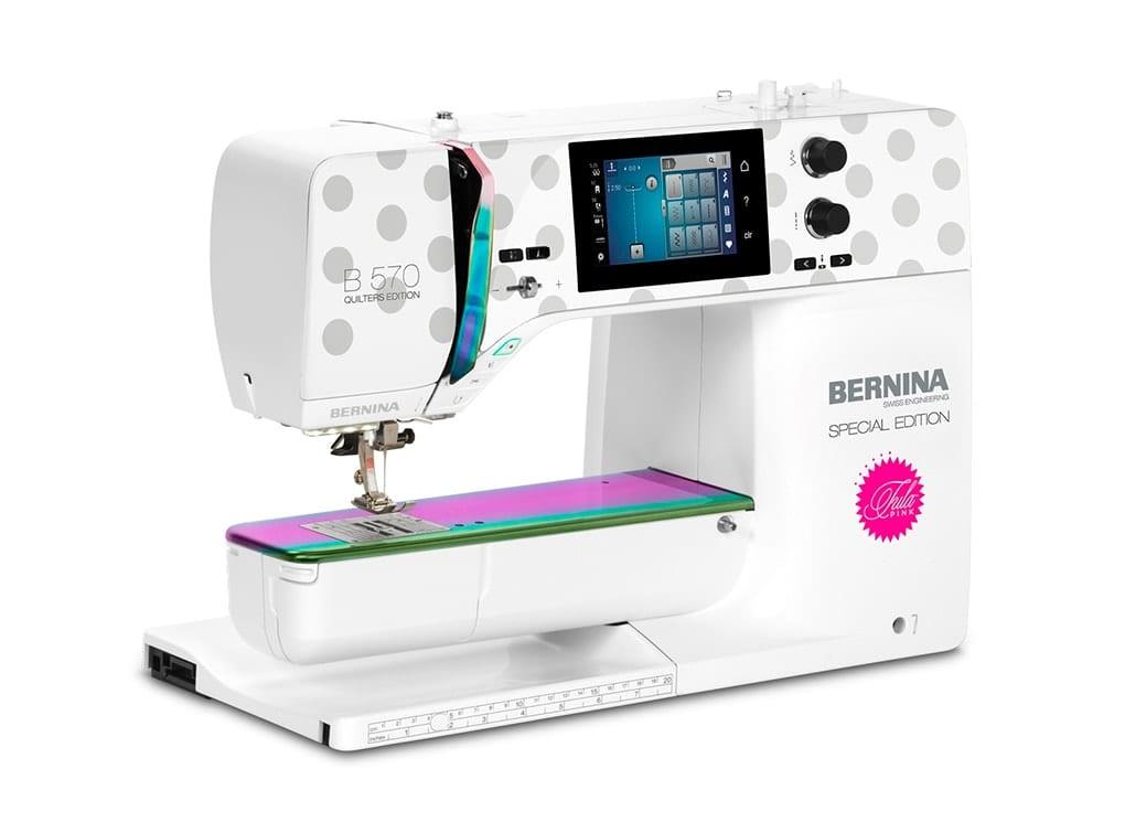 Image of   Bernina 570 QE VIO - Tula Pink - Special edition
