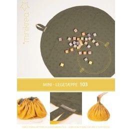 Minikrea - Legetæppe 00103