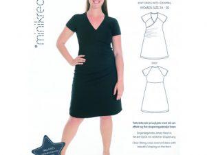 Minikrea - Kjole med drapering 70042