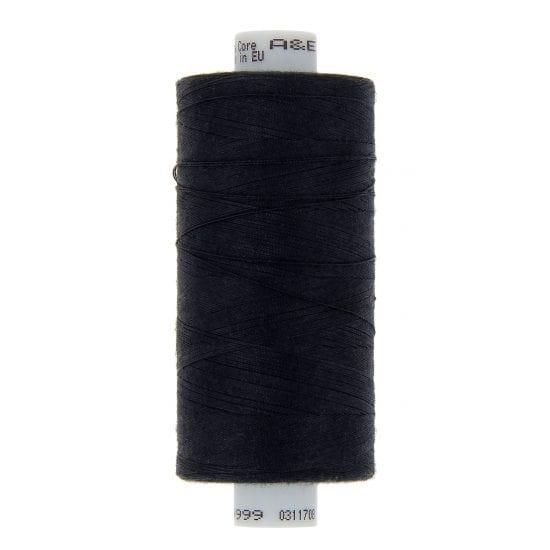 Perma Core 120 - 1000 M Farve (38717 - Sort)