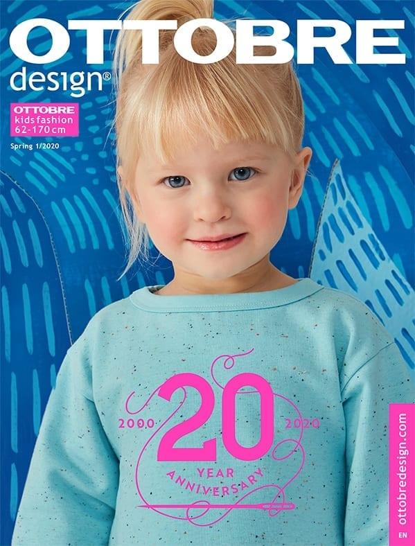 OTTOBRE design® (Nr. 1 - 2020) Kids Fashion (Tysk med engelske instruktioner)