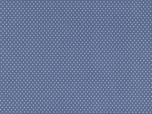Verena - Bomulds Jersey (Røget Blå)