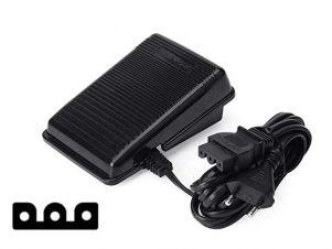 Elektronisk Fodpedal - Div. Symaskiner 3 Ben