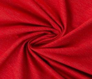 Glamoursweat - Isoli (Rød/rød glimmer) Pr. Meter