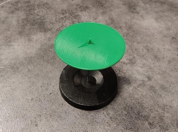 Holder til skåret ribkant - Tape Binder (Grøn)
