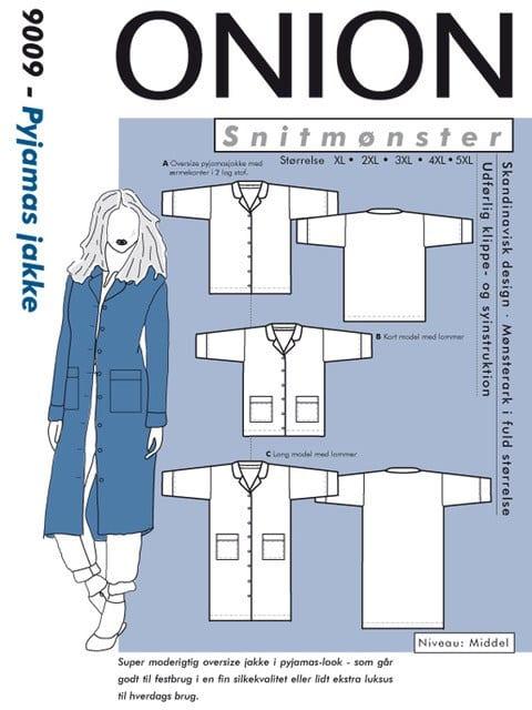 Onion Snitmønstre 9009 (Pyjamas jakke)