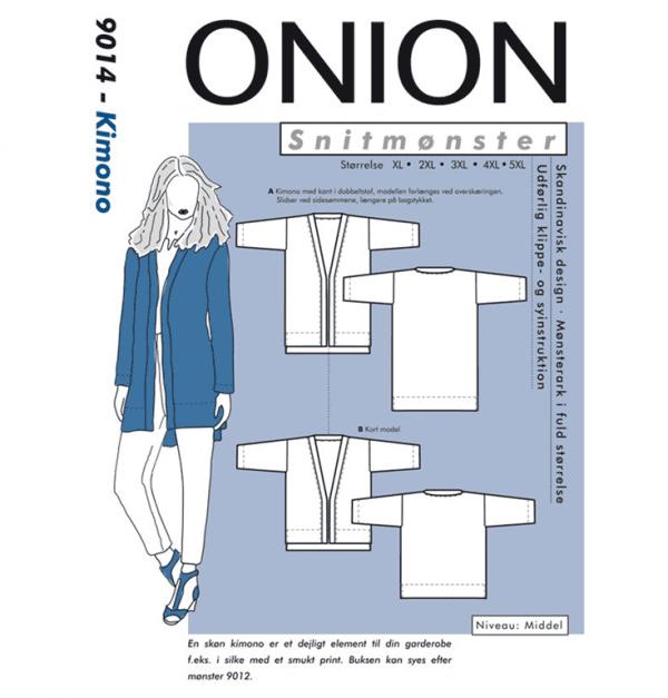 Onion Snitmønstre 9014 (Kimono)