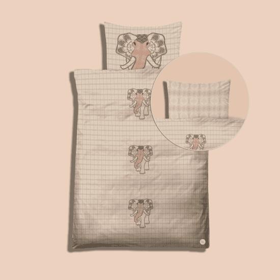 Sy-selv kit (Elefant i kredsløb) - Farve blush (Baby)