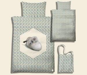 Sy-selv kit (Geo den lille ælling) - Farve olive blue (Baby)
