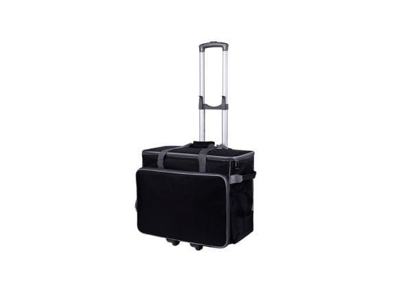 Taske Til Symaskine Inkl. Trolley (Sort)