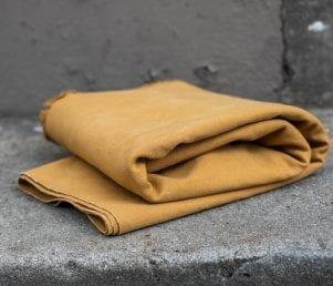 Heavy washed Canvas (Senneps Gul) Pr. Meter