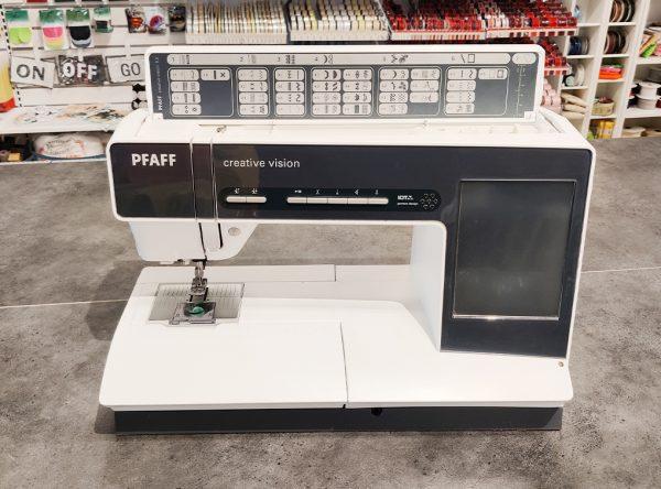 Pfaff Creative Vision 5.0 (Brugt) - (Kun som Symaskine)