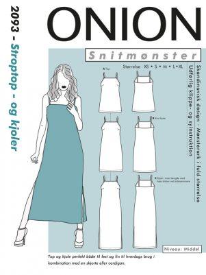 Onion snitmønster 2093 (Stroptop-og kjoler)
